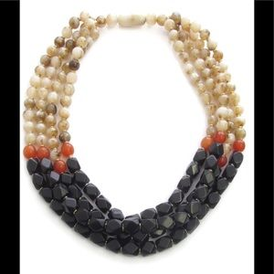 Jewelry - Chunky multi-layer beaded necklace
